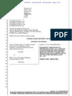 Plaintiffs' Opposition to Motion to Seal