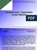 Presentación Infraestructura Crudo Altamira Sep-05