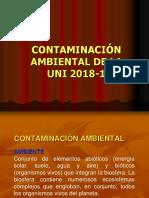 Contaminacion Ambiental de La Uni 2018-1