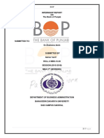 Fraz Internship Report on Bop