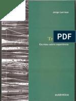LARROSA, Jorge. Tremores Escritos sobre a experiência.pdf