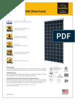 Sunmodule SW340 350 Xl Mono Datasheet