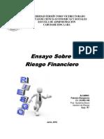 Ensayo Riesgo Financiero_Fabrizio Bongiorno