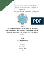 Implementacion de ISO 9001 - 2015 En el proceso de empaque de paltas