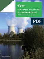 EDF Centrales Nucléaires Et Environnement