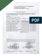 Certificado de Promoción