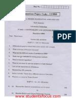 CS6701 Auque 2013 Regulation