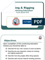 Powerpoint Training q4 2016 Lifting and Rigging