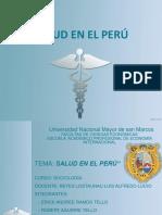 La salud en el Perú