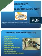 Manajemen Ppi Di Unit Rawat Jalan Persi 2015