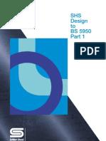 SHS Design to BS 5950 Part 1