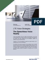 LTE Voice Strategies
