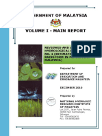 Hydrological Procedure No 1 - 2010 - Estimation of Design Rainstorm in Peninsular Malaysia