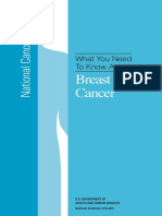 What You Need to Know About Breast Nci