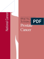 What You Need to Know About Prostate Nci