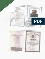 Carta d'Identità Luciano Bini