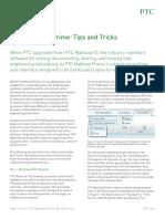 Ptc Mathcad Prime Tips Tricks