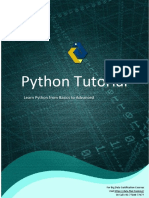 Python Tutorial Final V2