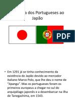 Chegada Dos Portugueses Ao Japão