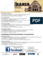 Program Kina Urania 21.6.-27.6.2018