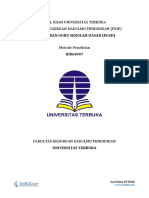 Soal Ujian UT PGSD IDIK4007 Metode Penelitian Disertai Dengan Kunci Jawaban dan Pembahasan Soalnya