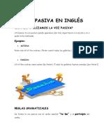 La Voz Pasiva en Inglés