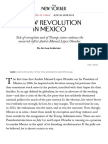 A New Revolution in Mexico | The New Yorker