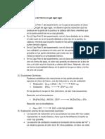Informe x de Quimica 2