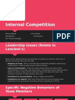 Internal Competition