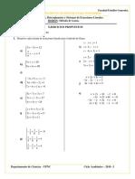H.P. Método de Gauss