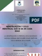 Ciclo Menstrual y Ciclo Ovarico