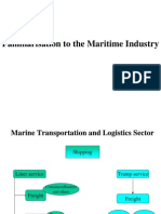 Basic of Maritime Industry