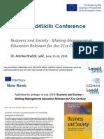 CEEMAN Research Lead4Skills June 2018