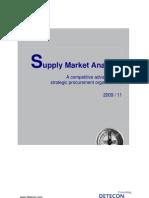 Detecon Opinion Paper Supply Market Analysis. A competitive advantage for strategic procurement organizations