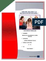 Monografia de La Violencia Familiar