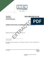 DISEÑO ESTRUCTURAL EN BAMBÚ (ISO 22156:2004, IDT)
