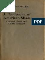 Um Dicionário de Gíria Americana