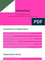 Intro to MakeUrMove