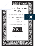 2016 NE-EC SBL Program Print