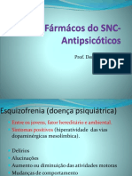 Aula 8-Fármácos Do SNC-Antipsicóticos