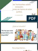 Claves y Reflexiones Para Una Mirada Inclusiva