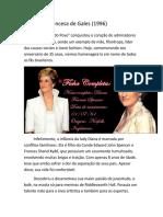 Reportagem Princesa Diana