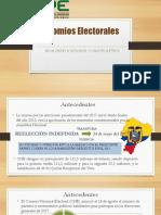 Binomios Electorales de Ecuador