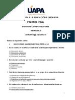 Practica Final- Romona Del Carmen