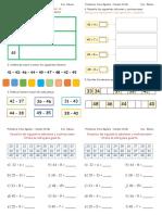 Guía de Matemática familia del 40