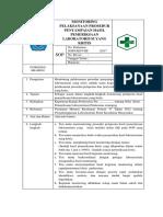 8.1.4 Ep 5 Sop Monitoring Pelaksanaan Prosedur Penyampaian Hasil Pemeriksaan Laboratorium Yang Kritis