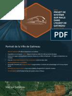 Train Léger Gatineau Projet 2018