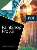 Guide d'Utilisation Paintshop Pro x9