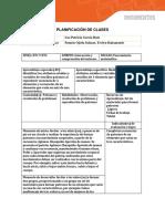 Planificación de Clases Nt