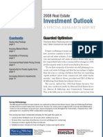 2008 Investment Outlook